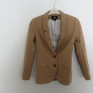 H&M Lined 2-Button Fitted Blazer